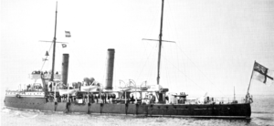 Sharpshooter-class torpedo gunboat - HMS Spanker