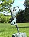 Spartacus Statue running Espartaco Chichester England.jpg