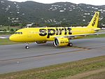 Spirit Airlines N905NK at STT, Dec 2016.jpg