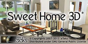 sweet home 3d wikip dia a enciclop dia livre. Black Bedroom Furniture Sets. Home Design Ideas