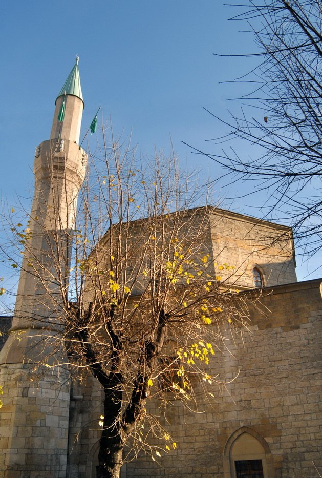 Spoljašnost Bajrakli džamije 03