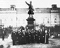 Spomenik Milošu Obrenoviću u Požarevcu, 1898. godine.jpg