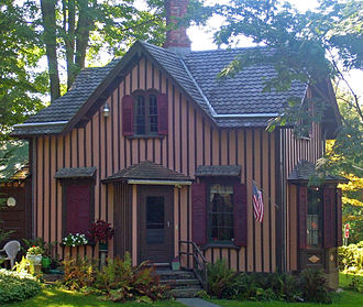 Carpenter Gothic - ''Springside'' in Poughkeepsie, New York