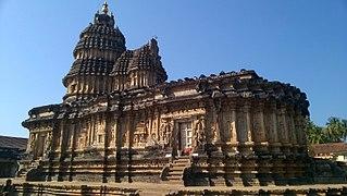Sringeri Temple town in Karnataka, India