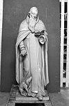 st. anthonius tijdens onderzoek van polychromie - grave - 20083832 - rce