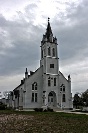 Ammannsville, Texas - St. John the Baptist Catholic Church
