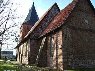 Neuenkirchen, Cuxhaven - St. Mary's Church in Neuenkirchen.