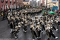 St. Patrick's Day Parade (2013) In Dublin - Purdue University All-American Marching Band, Indiana, USA (8565460661).jpg