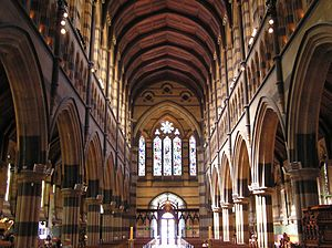 William Butterfield - St Paul's Cathedral, Melbourne, Australia