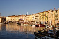 the Vieux Port of Saint-Tropez