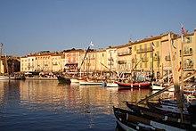 """Saint-Tropez """"le vieux port"""" (the old port)"""