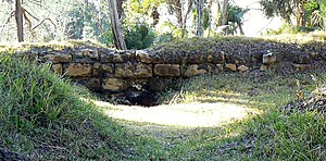 National Register of Historic Places listings in Wakulla County, Florida - Image: St Marks Frt Bombproof Wall