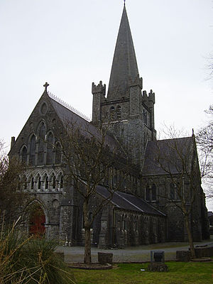 Archbishop of Tuam - The Cathedral Church of St Mary, Tuam, the episcopal seat of the pre-Reformation and Church of Ireland archbishops.