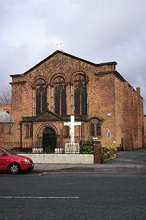 St Albans Church, Warrington Church in Cheshire, England