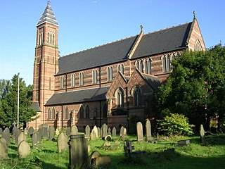 Church of St Cross, Clayton church in Manchester, UK