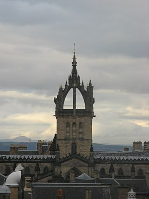 Crown steeple - Crown steeple of St. Giles' Cathedral, Edinburgh