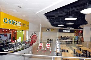 St. John's Shopping Centre - Image: St Johns Shopping Centre food court