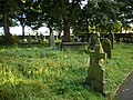 St Lucius' Church, Farnley Tyas, Graveyard - geograph.org.uk - 1466059.jpg