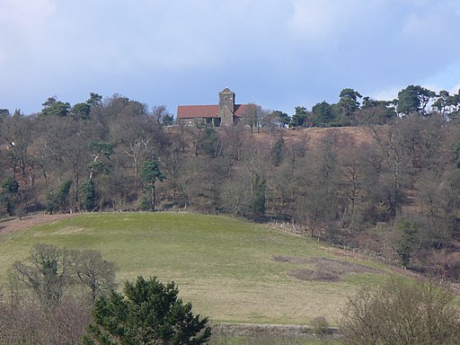 St Martha's Hill from Chilworth - geograph.org.uk - 1763666
