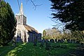 St Mary's Church, Great Canfield, Essex ~ from the southwest.jpg