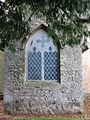 St Mary's church - fake vestry window - geograph.org.uk - 1634912.jpg
