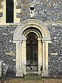 St Mary, Patrixbourne, Kent - Doorway - geograph.org.uk - 826338.jpg