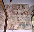 St Mary, Sporle, Norfolk - Wall painting - geograph.org.uk - 321178.jpg