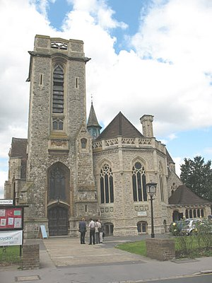 Addiscombe - St Mary Magdalene Church, Addiscombe.