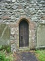 St Mary and St Michael Church, Great Urswick, Doorway - geograph.org.uk - 865580.jpg