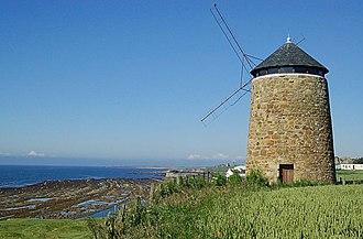 Sir John Anstruther, 2nd Baronet - St Monan's windmill