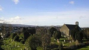 Churchtown, Dublin - St. Nahi's church and graveyard