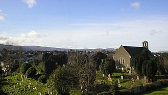 Churchtown, Dublin - St. Nahi's church and graveyard