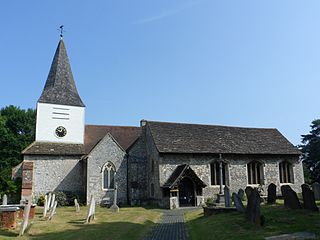 Great Bookham village located in Surrey, United Kingdom
