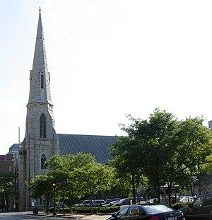 Montgomery Street–Columbus Circle Historic District - Image: St Pauls Syracuse