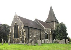 St Peter and St Paul, Swanscombe, Kent - geograph.org.uk - 326666.jpg