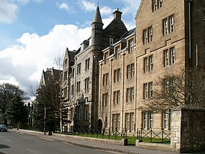 St Regulus Hall - St Regulus Hall as viewed from Queen's Terrace