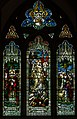 Stained glass window, St Mary's church, Manuden Essex (15803337782).jpg