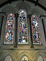 Stained glass window within St Mary's, Funtington - geograph.org.uk - 1045721.jpg