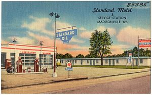 Standard Oil of Kentucky - Standard Motel and Service Station, Madisonville, KY