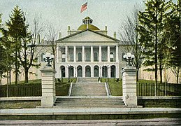 State House in 1905, Augusta, ME