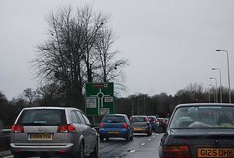 A303 road - Traffic and congestion is a regular problem along the A303, particularly near Stonehenge.