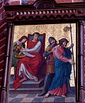Station 1 Jesus is condemned to death, St. Nicholas Church in Elbl?g.JPG