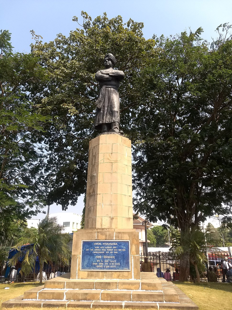 Statue of Swami Vivekananda (near Gateway of India)