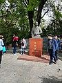 Statue of WANG Shijie, Wuhan University.jpg