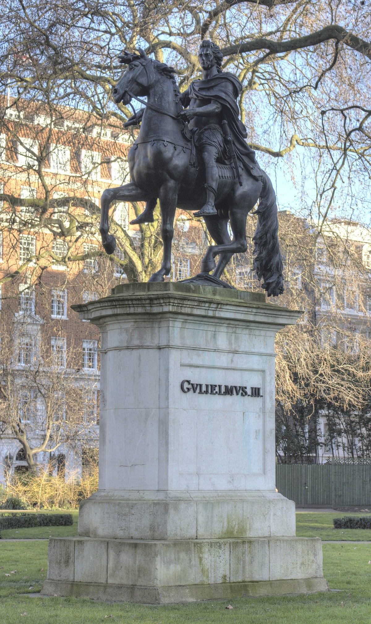 Equestrian statue of W...