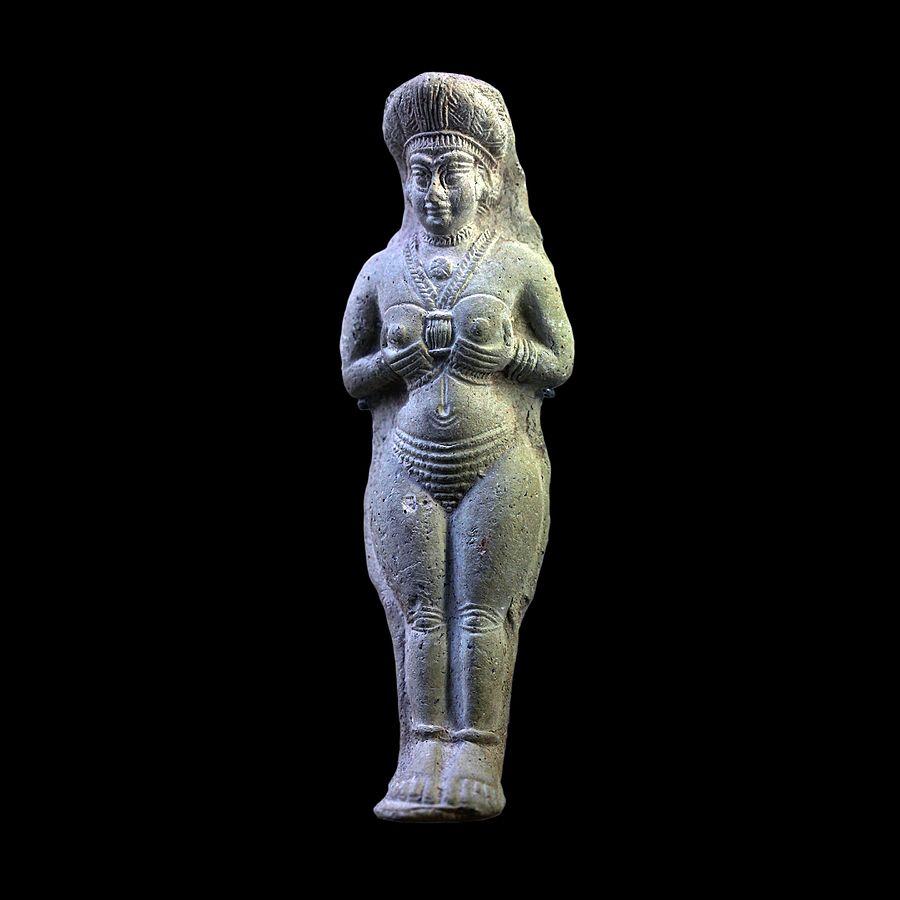Statuette of a woman-Sb 7762