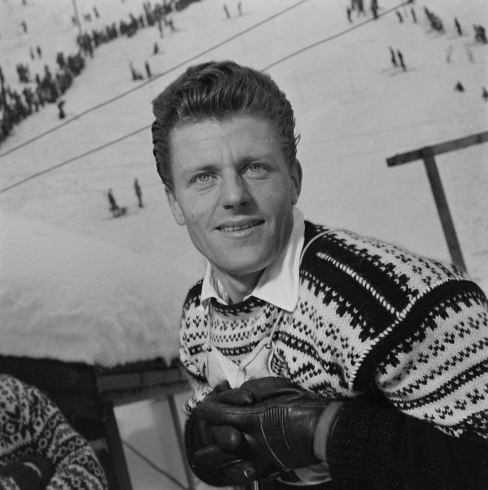 Stein Eriksen skiløper - L0029 455Fo30141606080173