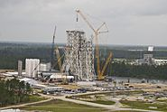 Stennis A3 test stand construction