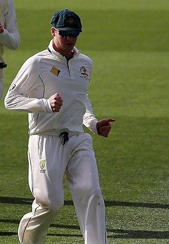 Steve Smith (cricketer) - Smith playing for Australia in 2016