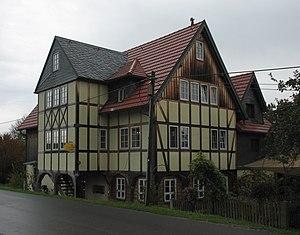 Stolpen - Upper Lusatian house in Helmsdorf